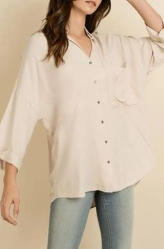 Channing Button Down Top – EcoVibe Minimal Wardrobe, Color Pairing, Loose Fitting Tops, Sustainable Clothing, Blush Color, Slow Fashion, Workout Tops, Minimalist Fashion, Size Clothing