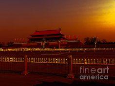 Title  Forbidden City   Artist  Cathy Anderson   Medium  Digital Art - Digital Art
