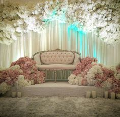 All About debut Malay Wedding, Desi Wedding, Elegant Wedding, Floral Wedding, Backdrop Decorations, Reception Decorations, Event Decor, Backdrops, Wedding Themes