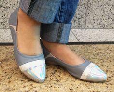 Moda e conforto na coleção primavera/verão 2014 da Piccadilly! http://www.piccadilly.com.br/BR/home #holográfico #tendência #sapatilha #moda #modaeconforto #sapatos #shoes #calçados #piccadilly