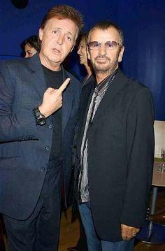 Paul McCartney y Ringo Starr graban un dúo