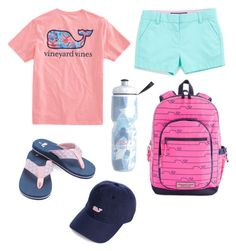 """""""V is for Vineyard Vines"""" by virginia-counts on Polyvore featuring Vineyard Vines"""