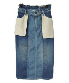 CHRISTIAN DADA / Deconstruction Pencil Denim Skirt(デニムスカート) - ZOZOTOWN