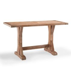 Washed Teak Bar Table