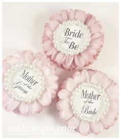 ba2549f7d943 3 Wedding Party Gift Bridal Shower Corsage