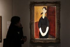 'Paulette Jourdain,' Amedeo Modigliani's demure portrait of his dealer's housemaid and girlfriend, sold to an...