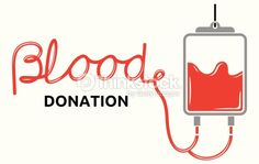 Vector Art : Blood donation