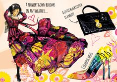 #pascualinafashion #pascualinastyle Colorful Heels, Gowns, Book, Style, Fashion, Florals, Display, Backgrounds, Women