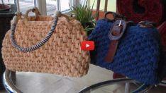 Penye İpten Çanta Modelleri Ve Yapımı – Penye İplik İle Örgü Çanta Yapımı