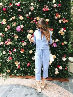 Chambray Jumpsuit an