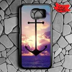 Anchor Refuse To Sink Samsung Galaxy S7 Black Case