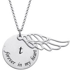 Angel in Heaven Memorial Necklace