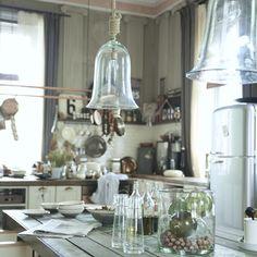 Hängelampe Glas mit Tampen   Til Schweiger   BAREFOOT LIVING