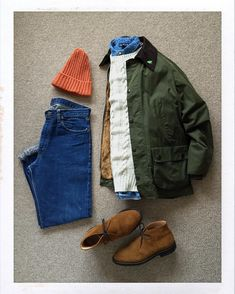 Today's Outfit. #Barbour #Bedale Oiled Jacket #Inverallan Heavy Needle Cable Sweater #RalphLauren Denim BD-Shirt #BeamsPlus Wool Knit Cap 60's #VintageLevis #BigE #505 #Churchs Suede Ryder #OutFitoftheDay #OutFitGrid #OOTD #DailyFashion #Cordinate #Vintage #Fashion #FashionPost #ファッション #コーディネート #バブアー #インバーアラン #ラルフローレン #リーバイス #チャーチ by the.daily.obsessions