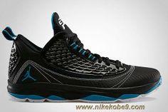 Cheap 580580-041 Black Neo Turquoise-White Jordan CP3.VI AE