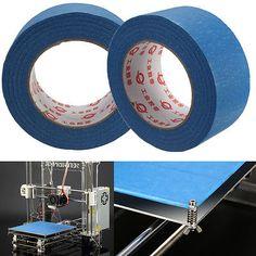 50M-X-50MM-3D-Printer-Blue-Tape-Reprap-Bed-Painters-Printing-Masking-Adhesive