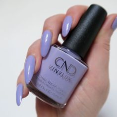 Spring Pastels Manicure With CND Vinylux CND Vinylux 'Gummi', lilac nails, pastel spring manicureCND Vinylux 'Gummi', lilac nails, pastel spring manicure Purple Manicure, Lilac Nails, Pastel Nails, Nail Manicure, Manicures, Subtle Nail Art, Funky Nail Art, Pretty Nail Art, Nail Art Diy