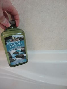 Melaleuca Tub put to the test - just ask and I will give you several peoples testimonials and they will also gladly share with you that this amazing product is the bomb! It is natural, it will not give you headaches!!! You simply spray on, let it sit, and it will rinse the soap scum right off! Trust me, your tub will thank you and you will be so happy!