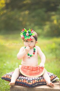 Watermelon 1st birthday session. #charleelifestylephotography #childrensphotography
