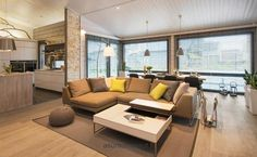.. Modul Sofa, House Rooms, Home Living Room, Outdoor Furniture, Outdoor Decor, Room Interior, Interior Decorating, Villa, Couch