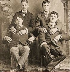 Turn of the century college friends