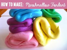 Homemade Marshmallow Fondant2
