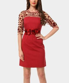 Another great find on #zulily! Red Cherry Dress #zulilyfinds