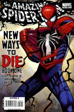 Amazing Spider-Man 568 by John Romita Jr. & Klaus Janson