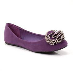 Lily Flat in Purple.