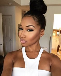 155 Best Bun Buns Images In 2019 Natural Hair Styles Hair