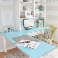 Home Office Makeover Reveal {Home Office}