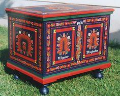 Hungarian National Furniture Painting