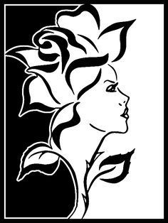 Stencil Patterns, Stencil Art, Stencil Designs, Stenciling, Kirigami, Schönheitssalon Logo, Transférer Des Photos, Wall Photos, Wood Burning Patterns