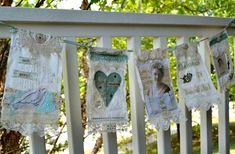 Artful Affirmations: Prayer Flag Banner