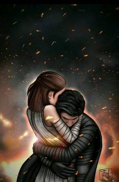 Want to discover art related to reylo? Check out inspiring examples of reylo artwork on DeviantArt, and get inspired by our community of talented artists. Star Wars Fan Art, Rey Star Wars, Star Wars Rebels, Amour Star Wars, Star Wars Zeichnungen, Wallpaper Winter, Reylo Fanart, Star Wars Drawings, Kylo Ren And Rey