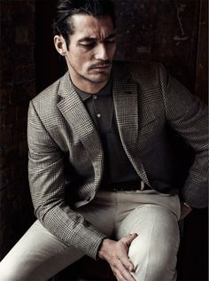 David Gandy with incredible look