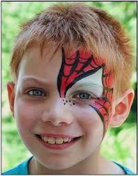 LOVE This Spiderman Facepainting Face Painting