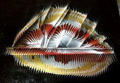 Ebru/ marbled paper by Necmiye Albayrak.