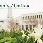 General Women's Meeting Spring 2014