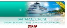$69 cruise time again! 4days/3nights Bahamas out of Port Canaveral, FL Jan 11-14 next year! Start your 2013 off with the #1 New Years Resolution from 2012-to travel more! Who's going? Email me for more info mrskristina.mitchell@gmail.com