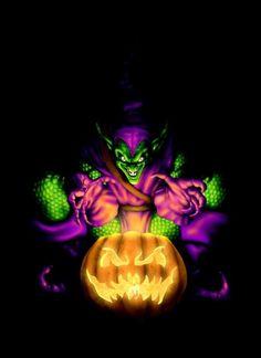 The Green Goblin by HarryBuddhaPalm on DeviantArt Marvel Comics Art, Fun Comics, Marvel Vs, Marvel Comic Character, Marvel Characters, Comic Books Art, Comic Art, Comic Movies, Book Art
