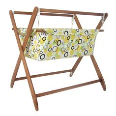 Baby Star Cariboo Gentle Motions Bassinet Insert - Tag Spring