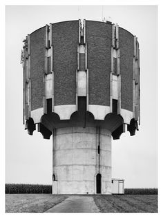 Image 23 of 27 from gallery of Constructing Worlds: Photography and Architecture in the Modern Age. Bernd and Hilla Becher Lessines, Belgium, Courtesy of Hilla Becher. Image Courtesy of Barbican Art Gallery Modern Architecture Design, Industrial Architecture, Futuristic Architecture, Architecture Photo, Modern Design, British Journal Of Photography, History Of Photography, Art Photography, Landscape Photography