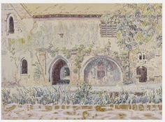 """Walter Bayes, """"The Abbey, Little Coggeshall"""" (c. 1940)"""