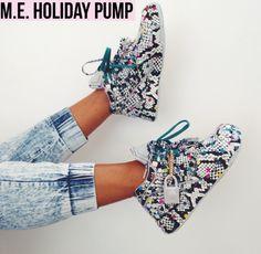 M.E x Reebok Pump Omni Lite > Melody Ehsani teamed up with