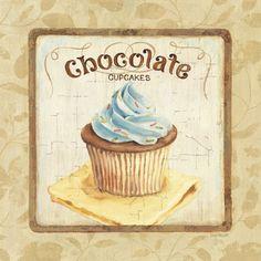 Sweet Cupcakes IV Art Print