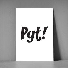 Postkort XL - Pyt kort