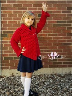 Cuddle Up Cardi #crochet #pattern from Little Luvies Shop