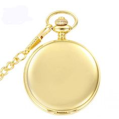 Retro Golden Polish Quartz Pocket Watch Chain relogio steampunk de bolso antique Pocket Fob Watch For Men Women Xmas Gift Clock Necklace, Quartz Pocket Watch, Pocket Watch Antique, Stainless Steel Chain, Bracelet Making, Watches For Men, Jewelry Watches, Pendant, Pocket Watches