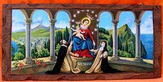 """Cum Petro et sub Petro: Semper: O Rosário de Nossa Senhora  """"Fique em minha alma a Alma de Maria, para  glorificar o Senhor; em mim resida o Espírito de Maria, para que o meu se alegre em Deus, meu Salvador"""" (Santo Ambrósio)."""
